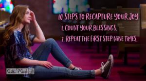 Daily Devotion – 10 Steps to Recapturing Joy